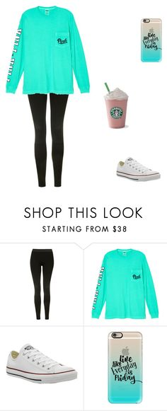 """""""Untitled #248"""" by bandsformybae ❤ liked on Polyvore featuring Topshop, Victoria's Secret, Converse and Casetify"""