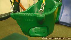 Gorilla Playsets Heavy Duty Baby Bucket Swing Review from Arizona Playsets