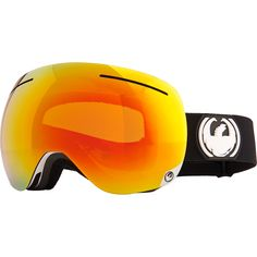 Built with a patented frameless design, the Dragon® adult X1 snow goggles offer up a super-wide field of view. Armored venting and an anti-fog lens treatment prevent moisture buildup, while triple-layer face foam delivers superior comfort. The strap is backed with honeycomb-patterned silicone for a secure grip on your hair or helmet.