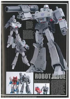 Thanks to the hard work of TFW2005 members Deruji and Liampope, we are proudly able to share with you a translation of the Masterpiece Megatron article con