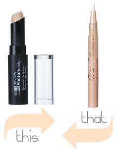 Maybelline Dream Lumi Touch Highlighting Concealer & Revlon Photo Ready Concealer - looking for a cheaper highlighter product to experiment with but not sure what to go for.