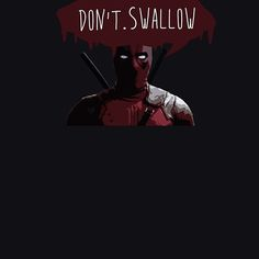 I never say this, but... // #redbubble #fanart #deadpool #ryanreynolds #wadewilson #quote #vector #marvel