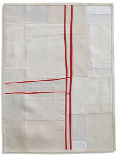 Yielding Resistance III (pieced vintage silk), par Debra M. Smith, 2009. Textilement résisté. LIEN : le site de Debra M. Smith