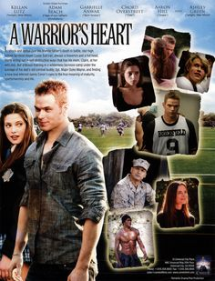 I want to see this movie!! A Warrior's Heart. About a kid who plays lacrosse, whose dad dies in Iraq.