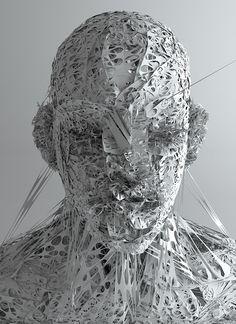 Conoce al tipo responsable de estas imágenes CGI de máscaras psicodélicas   The Creators Project