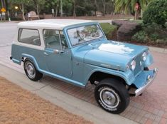 1968 Jeepster. Memories of family vacations in one of these.