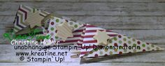 KreaTine: Weihnachtliche Spitztüten