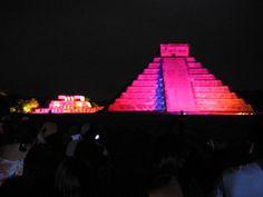 Chichen Itza (/tʃiːˈtʃɛn iːˈtsɑː/,[Spanish: Chichén Itzá [tʃiˈtʃen iˈtsa], from Yucatec Maya: Chi'ch'èen Ìitsha' [tɕʰɨɪ'tɕ'eːn˧˩ iː˧˩tsʰaʲ]