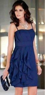 Vestido de fiesta azul Šaty Na Školní Ples a2e105fa4d