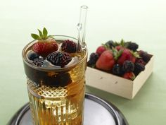 Sherry Cobbler. From the book, Knack Bartending Basics: More than 400 Classic and Contemporary Cocktails for Any Occasion by Cheryl Charming.