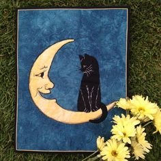 Hello Mr. Moon Wall Hanging • WeAllSew • BERNINA USA's blog, WeAllSew, offers fun project ideas, patterns, video tutorials and sewing tips for sewers and crafters of all ages and skill levels.
