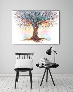 Wanddeko - Bild auf Leinwand - ein Designerstück von Ortons bei DaWanda Designer, Etsy, Table, Furniture, Home Decor, Wall Canvas, Decoration Home, Room Decor, Tables