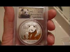 2012 Chinese Silver Panda One Ounce coin. This one is a perfect 70 Chinese silver panda! This Chinese Panda was graded by the PCGS coin grading service. These coins are great for both bullion and numismatic coin people! Numismatic Coins, Coin Grading, Panda, Coin Collecting, Silver Coins, Cos Cob, People, Chinese, Happy