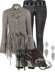 """Feathers"" by brendariley-1 on Polyvore"