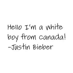 Justin Bieber Quote ❤ liked on Polyvore