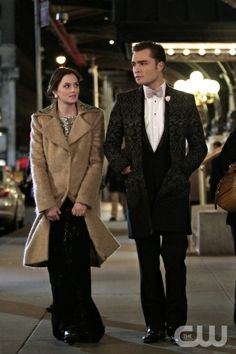 """""""The Wrong Goodbye"""" -- Leighton Meester as Blair Waldorf and Ed Westwick as Chuck Bass on the Gossip Girl on The CW. Photo credit: Giovanni Rufino/ THE CW 2011 The CW Network, LLC. All Rights Reserved"""