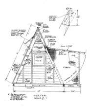 Are A-frame Cabin Kits Worth it? Tiny House Blog, Tiny House Swoon, Tiny House Cabin, Tiny Cabins, Boat House, House Floor, A Frame Cabin, A Frame House, Cabin In The Woods