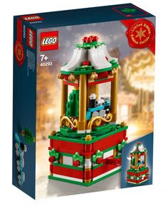 Lego Holiday Carousel 40293 ***Brand New and Factory. Here is your chance to get this rare and retired Lego set. Lego Christmas, Christmas Snow Globes, Christmas Holidays, Lego Creator, Lego Animals, Free Lego, Lego System, Lego Store, Custom Lego