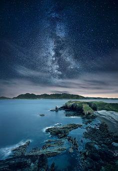 Seaside Starry Night - Co. Donegal, Ireland ... by Marius Kasteckas on 500px