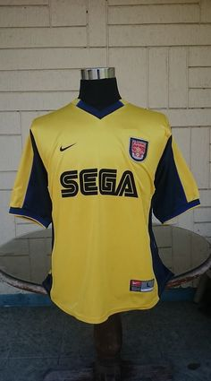 ff3b233f3 ARSENAL FC 1999-00 FA CHARITY SHIELD CHAMPION   UEFA JERSEY NIKE SHIRT  CAMISETA (