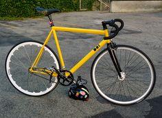 Desgenà D01 fixed gear bike of Riccardo Pozzato from Italy