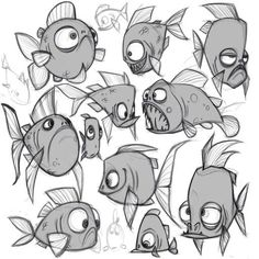 character drawing animals design ideas fish 2019 for 29 29 Ideas Drawing Animals Fish Character Design For 2019 29 Ideas Drawing Animals Fish Character DYou can find Character design animation and more on our website Character Design Animation, Character Design References, Character Drawing, Character Ideas, Animal Sketches, Animal Drawings, Drawing Animals, Art Et Illustration, Character Illustration