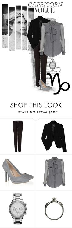 """""""Capricorn Vogue"""" by kira-marie ❤ liked on Polyvore featuring Helmut Lang, Zadig & Voltaire, Pour La Victoire, Z Spoke and Armani Exchange"""