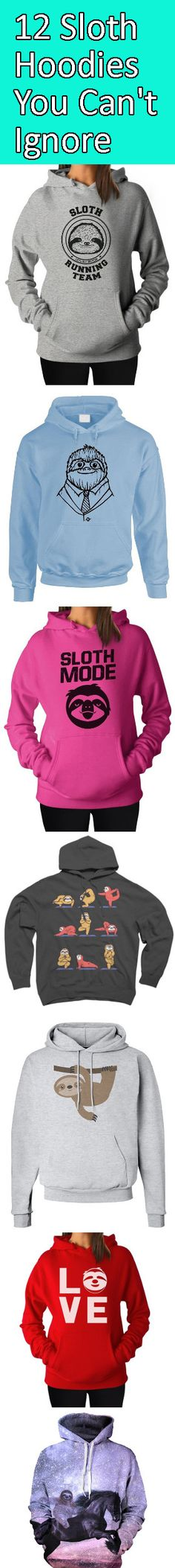 Have you ever felt a bit chilly and wondered how you could warm yourself up? Do you want to warm up in style whilst still expressing your wonderful love for sloths? Then we've got you covered with these 12 charming sloth hoodies! http://all-things-sloth.com/12-charming-sloth-hoodies-you-cant-ignore/