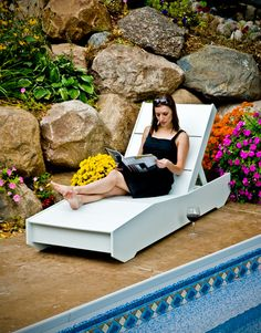 the 405 chaise | Loll Designs | Modern Recycled Outdoor Furniture