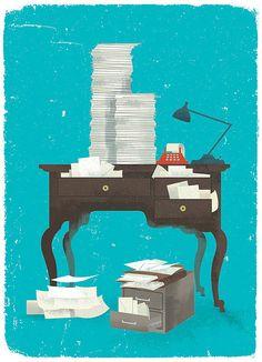 AARP_desk by Wallace Design House, via Flickr