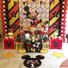 Tendencias de decoración de fiesta de mickey mouse 2018