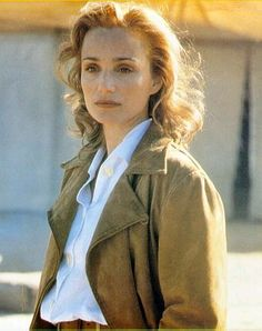 What's happened to Kristin Scott Thomas? Dramatic hairdo at Cannes adds years to…