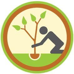 Tree-Planting Badge