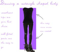 dressing tips for the rectangle shaped body