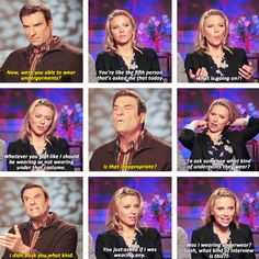 When Scarlett Johansson called out a reporter for asking questions about her underwear.