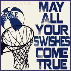May all your swishes come true by Carmel Hall