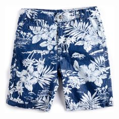 Must-Have Kids Style Summer 2015: Get stoked for our Hawaiian-print board shorts for every surfer dude and wannabe wave rider. $42 on appaman.com.
