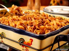 Amish Country Casserole | The Amish are known for many homestyle dishes, and this warm and comforting casserole is one of them. It's so tasty, it's no wonder it's been passed down from generation to generation.