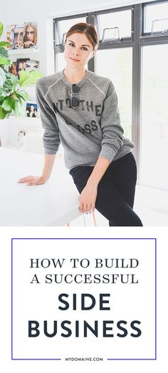Ever wonder how these entrepreneurs found the time while keeping a full-time job? How to build a successful side business Business Advice, Home Based Business, Business Planning, Online Business, Building A Business, Motivation, Coaching, Starting Your Own Business, Successful Business