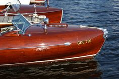 Lightning wooden boat Muskoka Greavette - Norton Safe Search