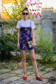 STYLE DU MONDE / Milan Men's SS 2018 Street Style: Diletta Bonaiuti  #Fashion, #FashionBlog, #FashionBlogger, #Ootd, #OutfitOfTheDay, #StreetStyle, #Style