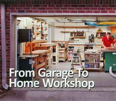 Garage Workshop Layout - Workshop Solutions Plans, Tips and Tricks | WoodArchivist.com
