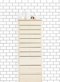 A perfect place to store your stuff: Lundia Classic Finland Classic Drawers, Wood Drawers, Lund, Finland, Perfect Place, Beautiful Things, Shelving, Sweet Home, Bedroom