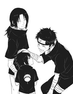 Holy shit! It is what Shisui and Itachi's kid would look like! It is baby Sasuke!