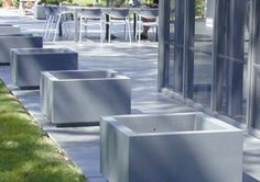 Special Finish Planters - Planters - Doty & Son's Concrete Products