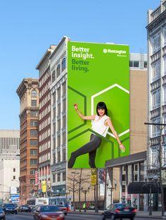 Nonfiction | Huntington Bank | Columbus OH Graphic Design Flyer, Ui Design, Flyer Design, Branding Design, Bank Branding, Branding Agency, Corporate Branding, Corporate Style, Corporate Design