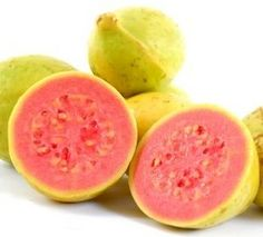 Guayaba-Guavas are also extremely tasty; in Cuba they are used as a natural remedy for colds and flu