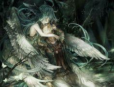 Imagen de anime, love, and angel