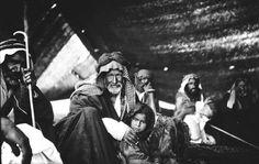A nomad family near Ha'il عائلة بدوية قريبة لحائل