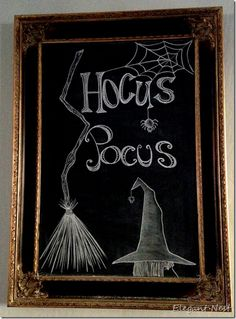 I recently created some festive chalk art on my favorite chalkboard canvas. I don't do a lot of Halloween décor.so this chalkboard is the perfect place to doo… Chalkboard Canvas, Chalkboard Writing, Kitchen Chalkboard, Chalkboard Drawings, Chalkboard Lettering, Chalkboard Designs, Fall Chalkboard Art, Chalkboard Ideas, Blackboard Chalk